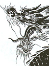Japanese Dragon Stencil Tattoo Designs